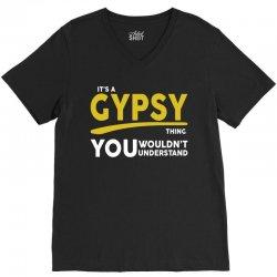 It's A Gypsy Thing V-Neck Tee   Artistshot