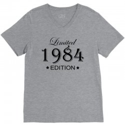 limited edition 1984 V-Neck Tee | Artistshot