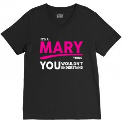 It's A Mary Thing V-Neck Tee | Artistshot
