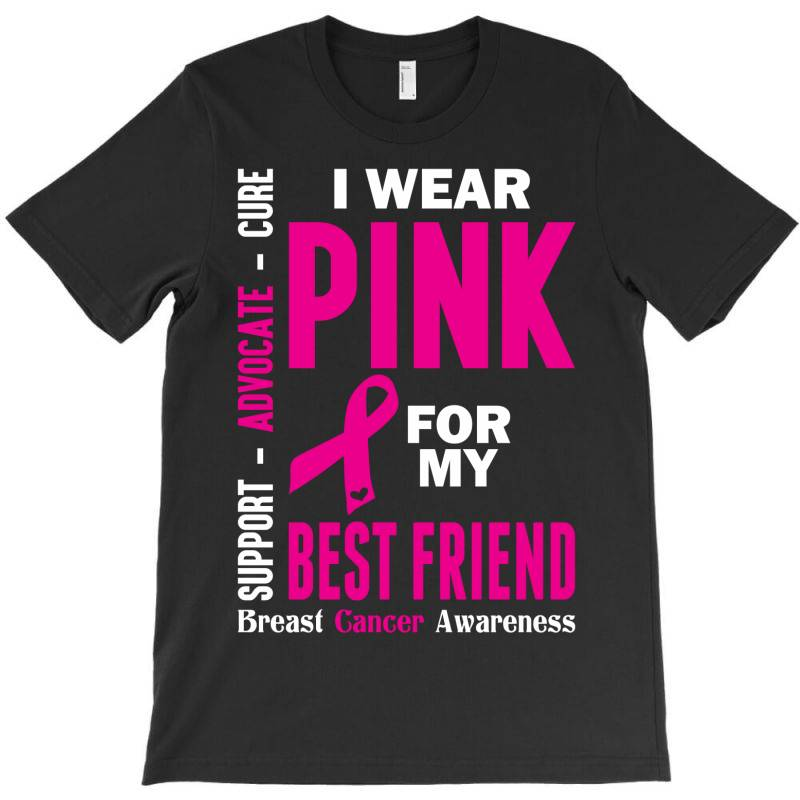 I Wear Grey For My Best Friend (brain Cancer Awareness) T-shirt   Artistshot