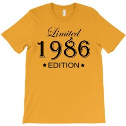 limited edition 1986 T-Shirt | Artistshot