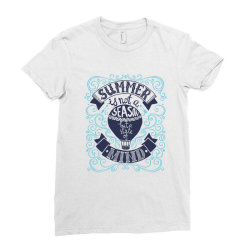Summer is not a season Ladies Fitted T-Shirt | Artistshot