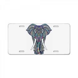 Indian elephant License Plate | Artistshot