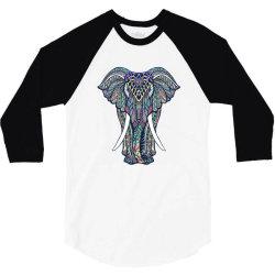 Indian elephant 3/4 Sleeve Shirt | Artistshot