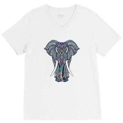 Indian elephant V-Neck Tee | Artistshot