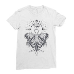 Butterfly Ladies Fitted T-Shirt | Artistshot