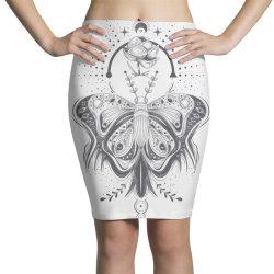 Butterfly Pencil Skirts | Artistshot