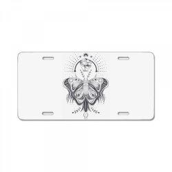 Butterfly License Plate | Artistshot