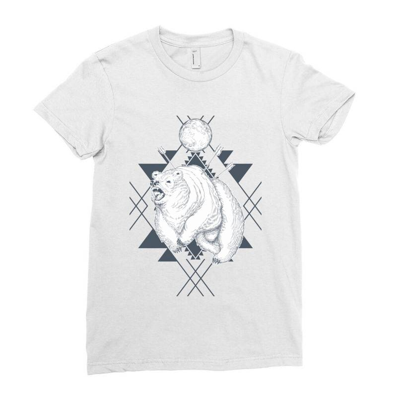 Bear Ladies Fitted T-shirt | Artistshot