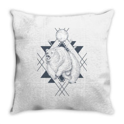 Bear Throw Pillow | Artistshot