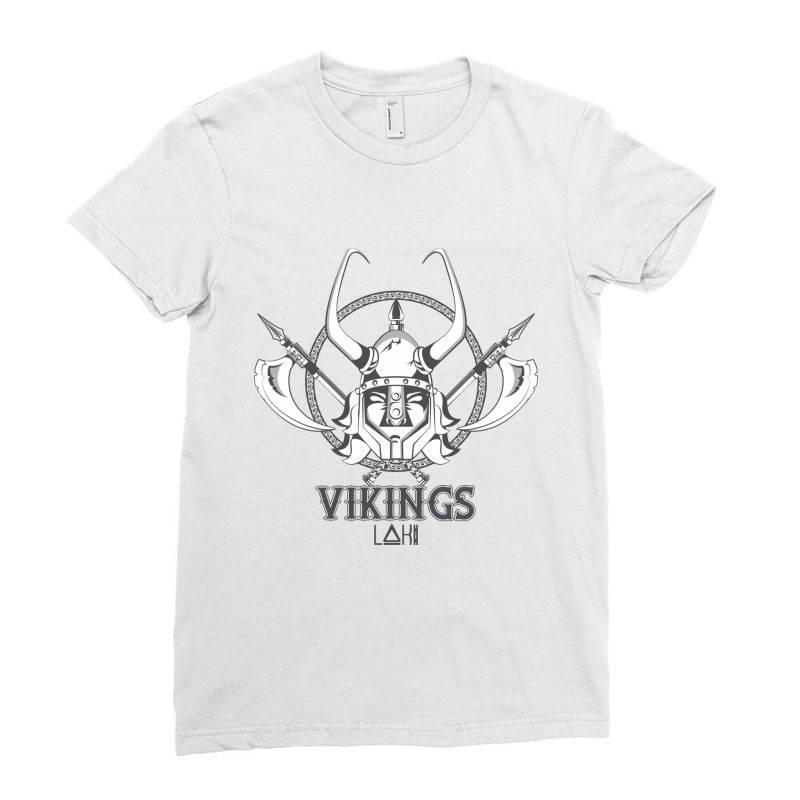 Vikings Ladies Fitted T-shirt   Artistshot