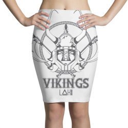 Vikings Pencil Skirts   Artistshot