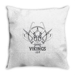 Vikings Throw Pillow | Artistshot