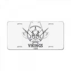 Vikings License Plate | Artistshot