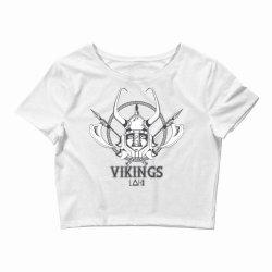 Vikings Crop Top   Artistshot