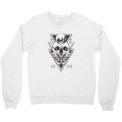 Butterfly skull Crewneck Sweatshirt | Artistshot