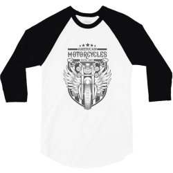American Motorcycles ESTD 1987 3/4 Sleeve Shirt | Artistshot