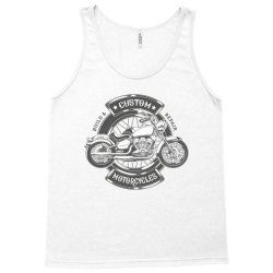 Custom Motorcycles Tank Top | Artistshot