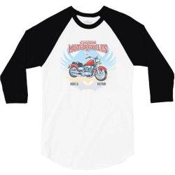 Custom Motorcycles 3/4 Sleeve Shirt | Artistshot