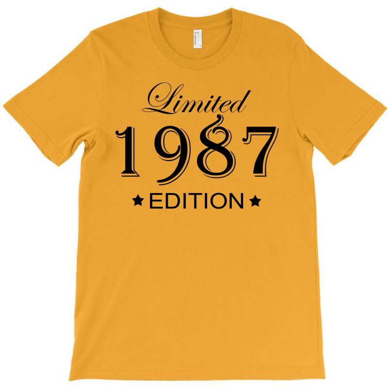 Limited Edition 1987 T-shirt | Artistshot