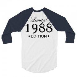 limited edition 1988 3/4 Sleeve Shirt | Artistshot