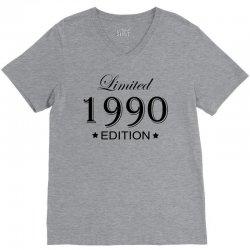 limited edition 1990 V-Neck Tee | Artistshot