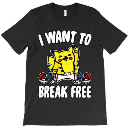 I Want To Break Free T-shirt Designed By Balqis Tees
