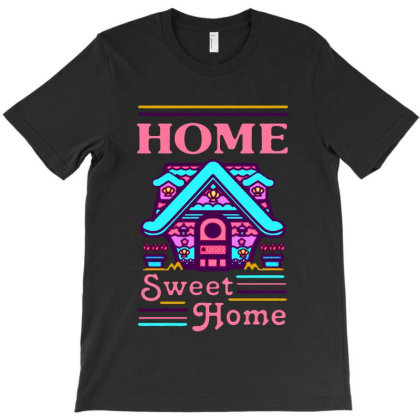 Home Sweet Home Mermaid Series Exterior T-shirt Designed By Balqis Tees
