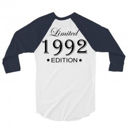 limited edition 1992 3/4 Sleeve Shirt | Artistshot