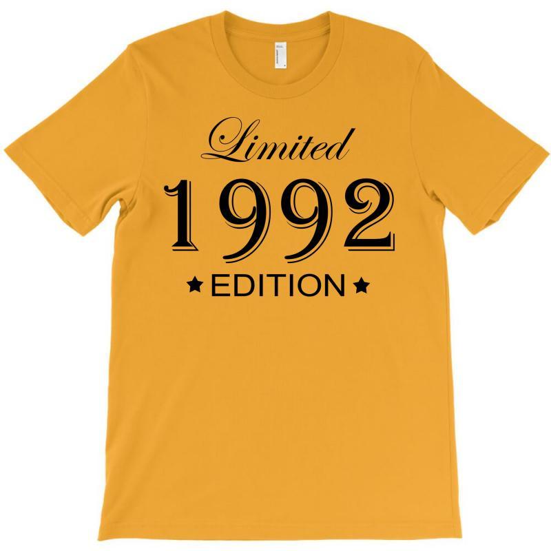 Limited Edition 1992 T-shirt | Artistshot