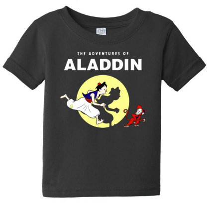 The Adventures Of Aladdin Baby Tee Designed By Pinkanzee