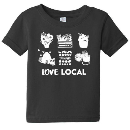 Show Your Support For Minnesota Grown Farmers Baby Tee Designed By Pinkanzee