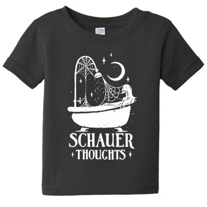 Schauer Thoughts Baby Tee Designed By Pinkanzee