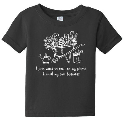 Plant Lover Baby Tee Designed By Pinkanzee