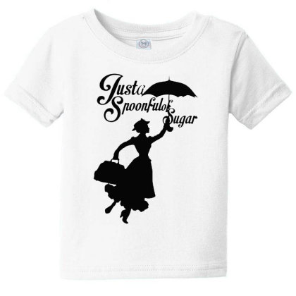 Just A Spoonful Of Sugar Baby Tee Designed By Pinkanzee