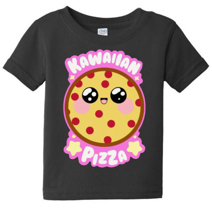 Kawaiian Pizza Baby Tee Designed By Pinkanzee