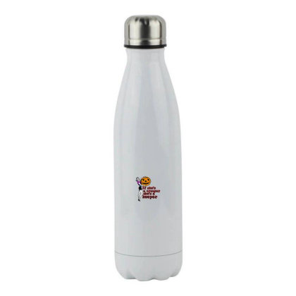 Shes A Keeper Stainless Steel Water Bottle Designed By Pinkanzee