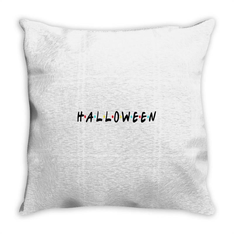 Halloween For Light Throw Pillow   Artistshot