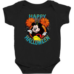funny happy halloween Baby Bodysuit | Artistshot