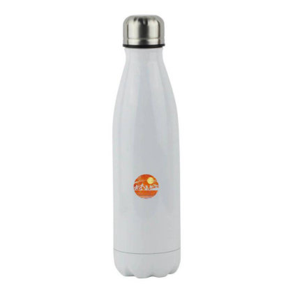 Funny Halloween Stainless Steel Water Bottle Designed By Pinkanzee