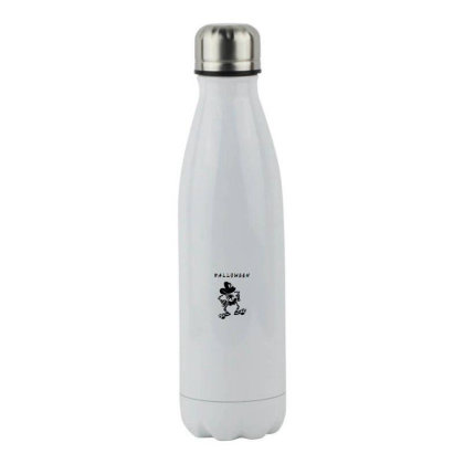 Funny Halloween For Light Stainless Steel Water Bottle Designed By Pinkanzee