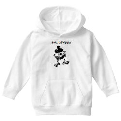 funny halloween for light Youth Hoodie   Artistshot