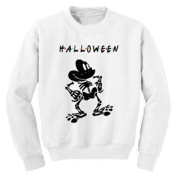 funny halloween for light Youth Sweatshirt   Artistshot