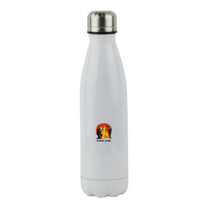 Halloween Classic Stainless Steel Water Bottle Designed By Pinkanzee