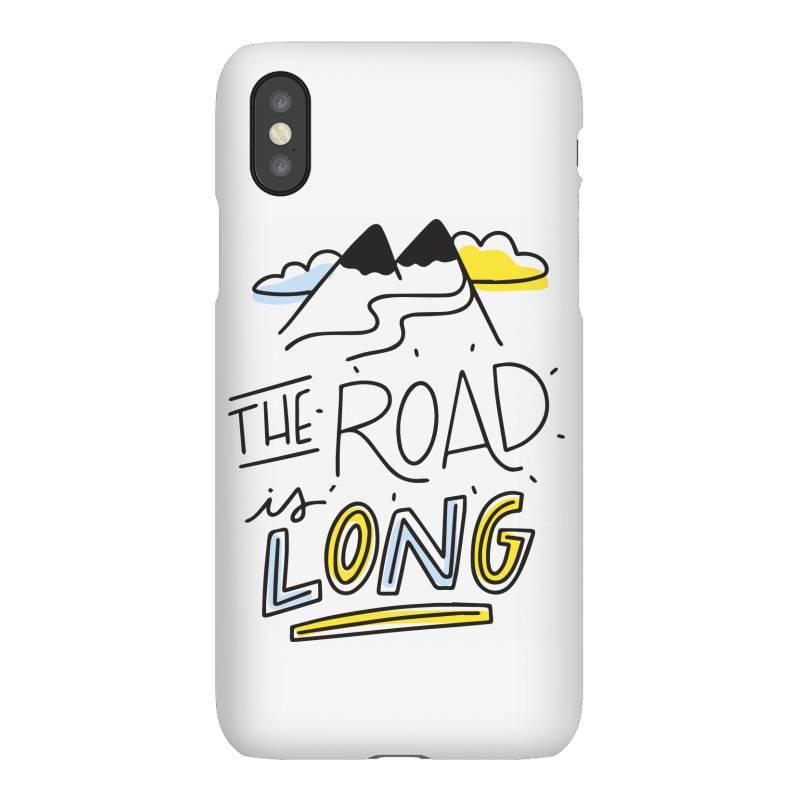 The Road Is Long Iphonex Case | Artistshot