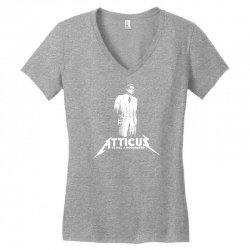 to kill a mockingbird atticus Women's V-Neck T-Shirt | Artistshot