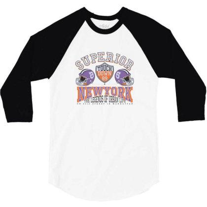 Superior New York 3/4 Sleeve Shirt Designed By Estore