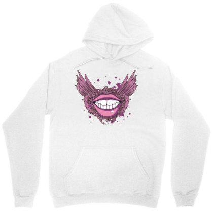 Smile Unisex Hoodie Designed By Estore