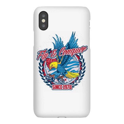 Fly & Conquer,  Since 1978, American Eagle, Usa Iphonex Case Designed By Estore