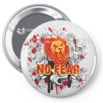 No Fear Pin-back Button Designed By Estore